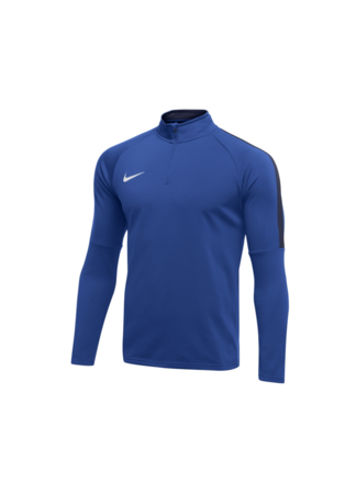 Nike Men's Nike Dry Academy 18 Drill Football Top (ROYAL BLUE/OBSIDIAN/WHITE)