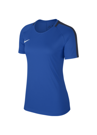 Nike Women's Nike Dry Academy 18 Football Top (ROYAL BLUE/OBSIDIAN/WHITE)